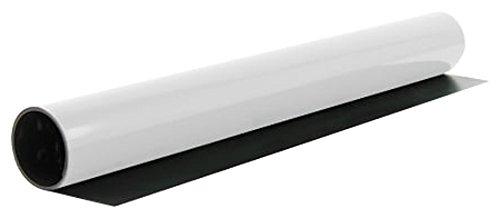 MagFlex® 620mm Breite Flexibel Magnetblatt - Glanz Weiß (1 Meter Länge)