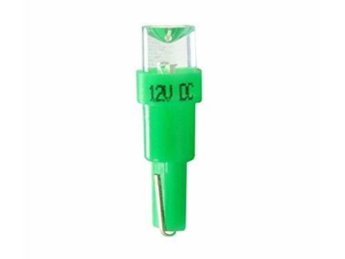 M-Tech L002G Lampe LED T5 12 V concave, Set de 10