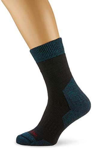 Bridgedale Herren B Explorer Heavyweight Merino Comfort Socken, navy, L