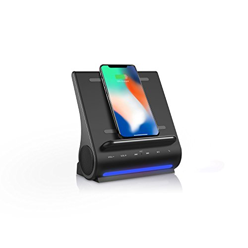 Azpen D100 Wireless Charging Station with Multiple USB Ports +...