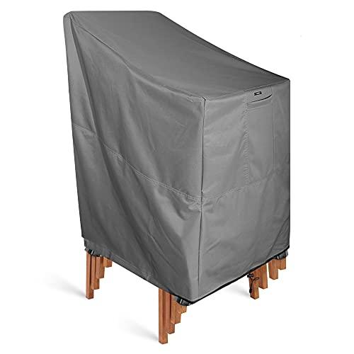 KHOMO Gear–Serie Titan–Sedia impilabile cover–Heavy Duty Premium Outdoor Furniture Protector