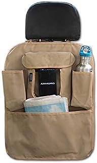 Armoro Car Back Seat Multi Pocket Storage Organizer Holder (Sand)