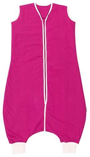 Schlummersack Schlafsack mit Füßen Ganzjahres-Variante für Erwachsene in 2.5 Tog - Beere - Größe M