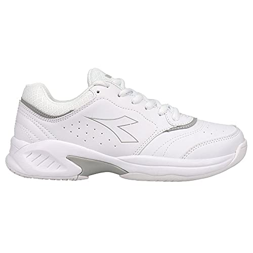 Diadora Womens Smash 3 Tennis Sneakers Shoes Casual - White - Size 9.5 B