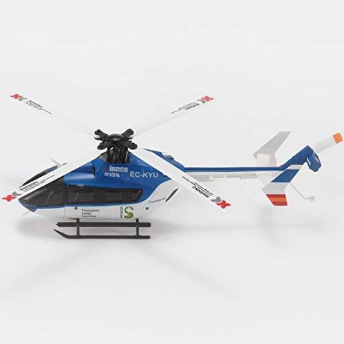 TOYYPAY Avión RC 6 vías de Control Remoto helicóptero Modelo de avión...