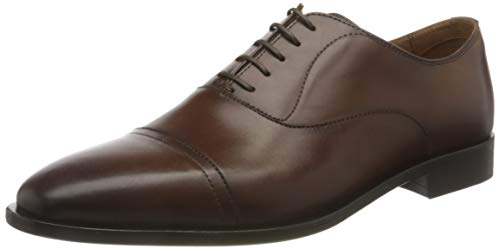 BOSS Business Herren Lisbon_Oxfr_buct Oxford, Medium Brown210