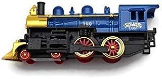 KiNSMART Steam Engine Locomotive Blue 7 Inches Long