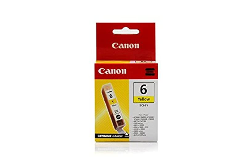 Canon S 9000 -Original Canon 4708A002 / BCI-6Y - Yellow Ink Cartridge -