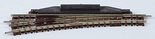 22265 N Fleischmann Gleis (ohne Bettung) Weiche, Links 112.6 mm 15 ° 362.6 mm