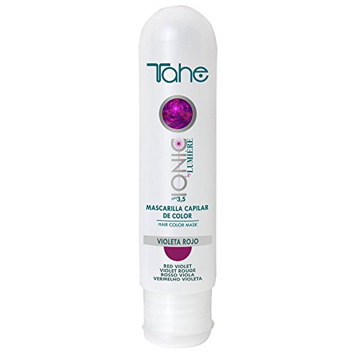 Tahe - Ionic By Lumiere-Color Mask Violeta Rojo 100 Ml. (Red Violet)