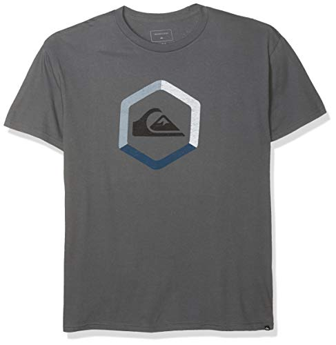 Quiksilver Men's The Boldness TEE, Iron gate, M