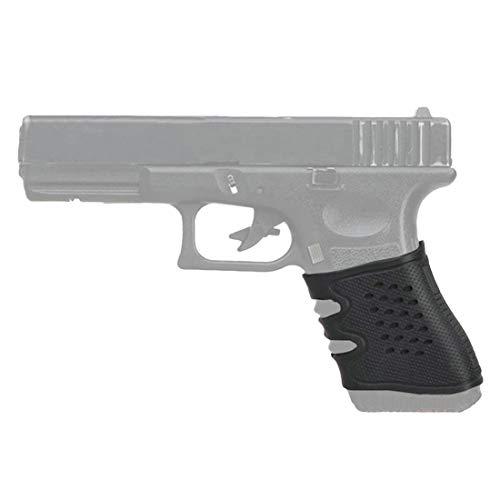 XFC-Griffe, Slip-Handschuh-Abdeckung Sleeve Anti for die meisten Glock Pistolen Airsoft Jagd-Zubehör Tactical Pistol Rubber Grip Schwarz