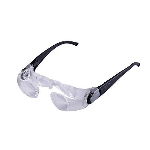 Lupe Brillen, tragbar Max TV Lupe 2.1Mal Fernsehen Entertainment Langstrecken-Beobachtung Kurzsichtige Gläser Stil