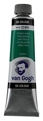 Royal Talens : Van Gogh Oil Paint : 40ml : Phthalo Green S1