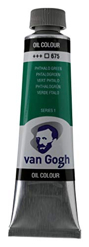 Royal Talens : Van Gogh Oil Paint : 40ml : Phthalo Green S1