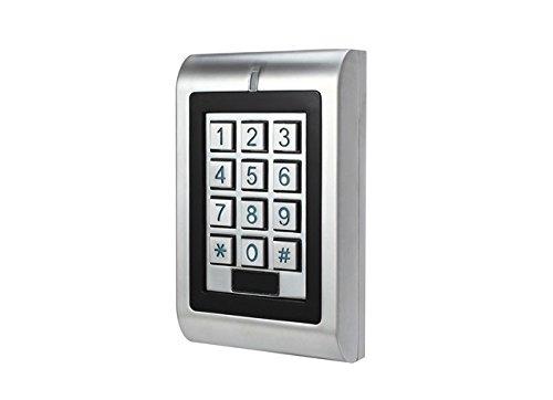 Secukey sk1-w Zutrittskontrolle Standalone IP66, RFID/Pin, Relais Türöffner integrierte, Silber
