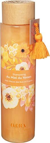 O&RA Honey Hair Shampoo | 80% natural origin ingredients