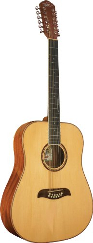 Oscar Schmidt OD312 12-String Dreadnought Acoustic Guitar - Natural