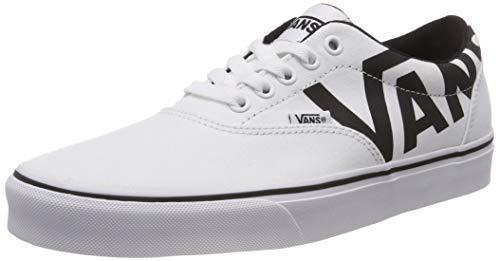 Vans Doheny, Zapatillas para Hombre, Blanco ((Big Logo) White/Black Ryk), 40 EU