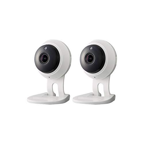 SNH-C6417BN - Samsung Wisenet SmartCam 1080p Full HD Plus Wi-Fi Camera Double Pack