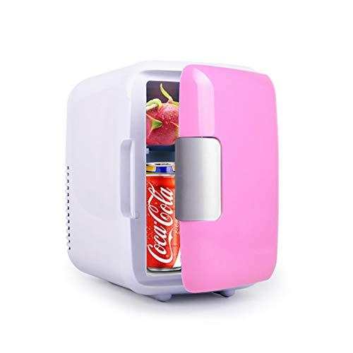 Mini Frigo da 5 Litri, 12 V / 220 V Birra, Wine & Drink Cooler Freshener & Warmer Frigorifero Freezer Frigorifero Portatile per La Medicina Home Office Car Dormitorio