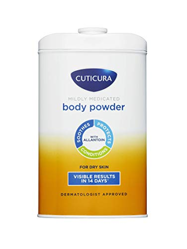 Cuticura Mildly Medicated Talcum Powder / Body Powder 250g | Packaging May Vary