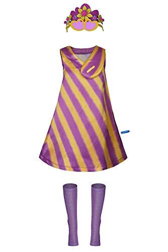 Bilicos World Tour - Disfraz de Poppy para Halloween o Carnaval