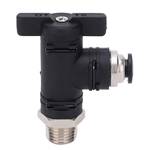 Conector neumático, completo Cobre niquelado Juntas de hebilla autoblocantes internas Interruptor neumático Accesorios neumáticos para interior para exterior
