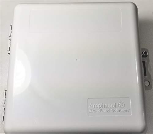 Heavy Duty Weather Proof Multi Purpose Enclosure Amphenol Broadband 9 x 9 x 4 (Interior approx. 8 x 8 x 3-1/2)