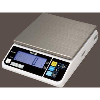 タニタ デジタルスケール 片面表示 15kg USB ホワイト TL-280