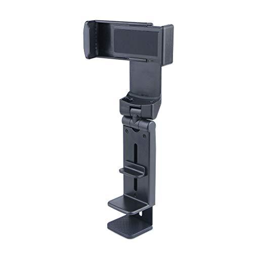 Yinuneronsty Soporte de teléfono giratorio 360°, plegable para el coche para iPhone