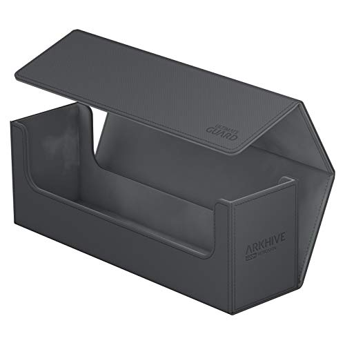 Ultimate Guard  - Arkhive Flip Case 400+ Standardgröße XenoSkin, grau