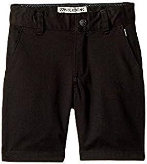 ビラボン Billabong Kids キッズ 男の子 ショーツ 半ズボン Black Carter Stretch Walk Shorts [並行輸入品]