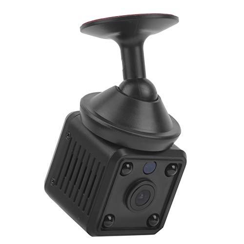 Lazmin112 Mini cámara WiFi, 1080P de Alta definición con Vista Nocturna por Infrarrojos Monitor de Video inalámbrico Recargable Cámara de vigilancia de grabación de Bucle Gran Angular de 120 Grados