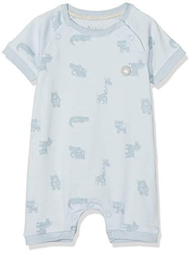 Sigikid Baby-Jungen Overall, New Born Spieler, Blau (Plein Air 569), (Herstellergröße: 56)