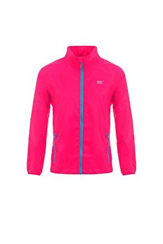 Mac in a Sac 923 NEOPINS NEOON - Giacca impermeabile unisex con tasca, colore: rosa fluo, taglia S