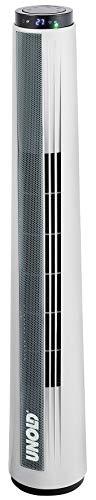 Unold 86940 TURMVENTILATOR Sight, mit LED-Display, Timer-Funktion, zuschaltbarer 70° Oszillation
