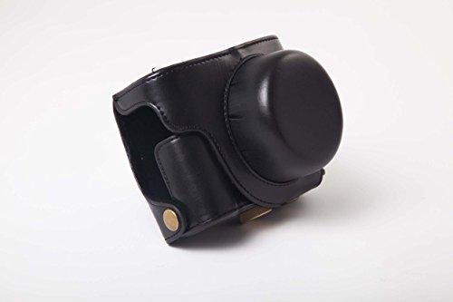 vhbw Bolsa Negra para cámaras fotográficas Panasonic Lumix DMC-LX100.