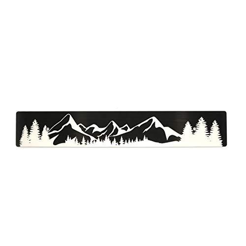 Billetworkz Mountains License Plate Delete Compatible with Subaru WRX/STI/Crosstrek