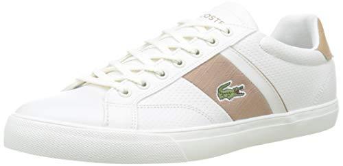 Lacoste Fairlead 319 1 CMA, Zapatillas para Hombre, Blanco (Off White/Light Tan Ot6), 47 EU