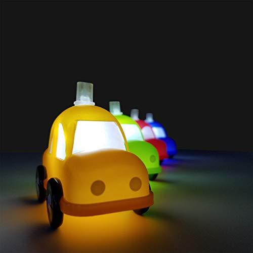 FluxTech - Fantastic Children Fun Car 10 x White Colour LED String Lights Santa's Factory – Low Voltage Operated