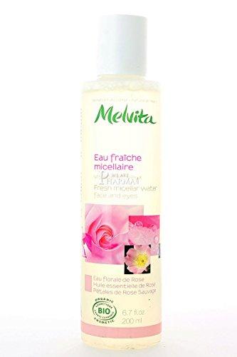 Melvita Eau fraîche micellaire visage et yeux Rose 200ml