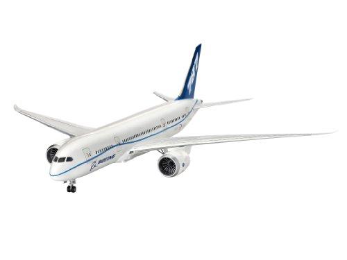 Revell Modellbausatz Flugzeug 1:144 - Boeing 787-8 'Dreamliner' im Maßstab 1:144, Level 5, originalgetreue Nachbildung mit vielen Details, Zivilflugzeug, Passagierflugzeug, 04261