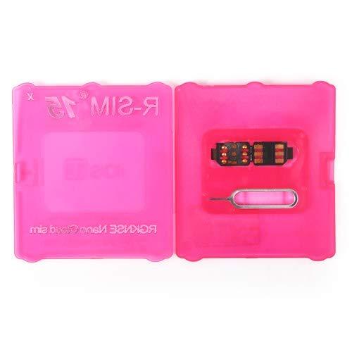 Flymotor R-SIM15 Sim14+ Nano desbloqueo RSIM tarjeta compatible con 11 Pro XS MAX XR 8 IOS 13