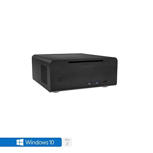 Sedatech Mini-PC Evolution Intel i7-8700T 6X 2.4GHz, 8GB RAM DDR4, 250GB SSD NVMe M.2 PCIe, 1TB HDD, Blu-Ray/DVD-RW, WLAN, Bluetooth. Desktop Computer, Win 10