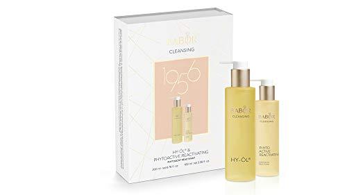 BABOR CLEANSING Hy-Öl & Phytoactive Reactivating Set, Jubiläums-Collection, Reinigungs-Duo, für regenerationsbedürftige Haut, 2 Teile