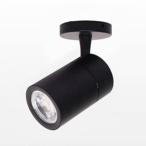 Moderno LED LED LIGHT 360 ° Foco ajustable, lámpara de techo montada en superficie, iluminación de la cama de la cama de la habitación Light Light Light, sala de estar de la sala de estar Luz de enfoq