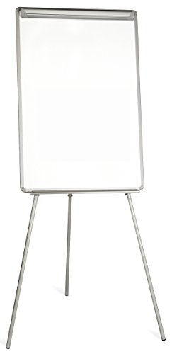 Bi-Office Easy - Chevalet de Conférence Trépied, A1 - 600 x 850 mm, Paperboard Magnétique