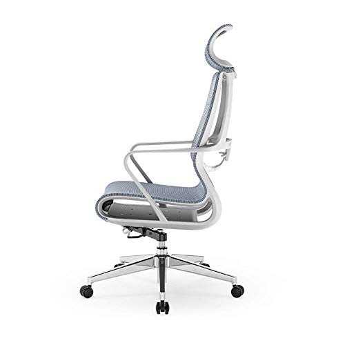 luckyW Home Swivel Chair Modern Minimalist Office Chair Office Chair Ergonomic Computer Chair Mesh Adjustable High and Low Office Chair