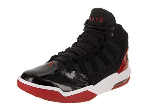 red and black jordans - 2